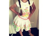 Oilily Top And Skirt Set Age 6 & 8
