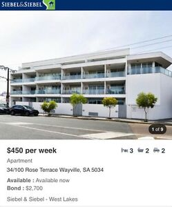 3 BEDROOM CITY APARTMENT FOR RENT Adelaide CBD Adelaide City Preview