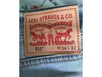 Brand new mens Levi's jeans