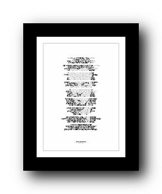 ❤ BRUCE SPRINGSTEEN - Human Touch ❤ song lyric poster art print - 5 sizes #16