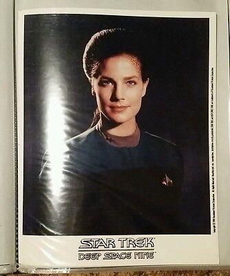 STAR TREK DEEP SPACE NINE STATION 8x10 COLOR PHOTO Jadzia Dax 1999 Terry Farrell