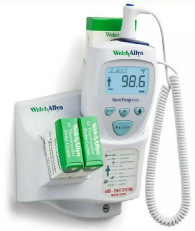 NEW Welch Allyn 01692-200 SureTemp Plus Model 692 Electronic Thermometer Bundle