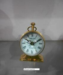 Antique 4 Maritime brass desk clock Nautical Table Clock Vintage collectible