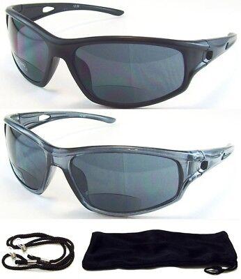 Bifocal HD Vision Reader Reading Glasses Sunglasses Black Smoke or Amber Lens (Amber Sun Glasses)