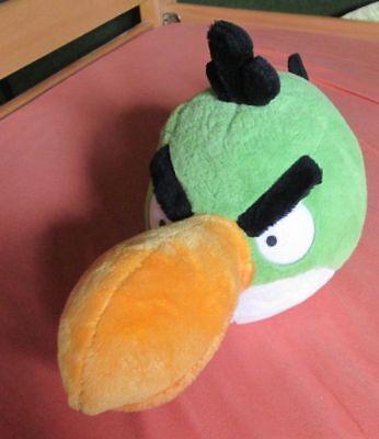 "Angry Birds Green 15""x 8 1/2"" The Green Bird Plush  Soft  No Sound"