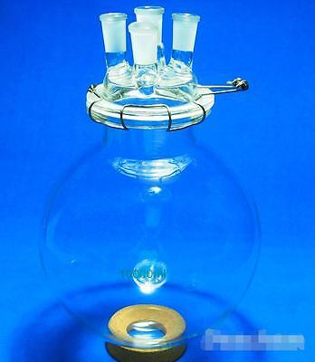 10000mlglass Reaction Kettle10l4-necklab Chemistry Glass Reactor T
