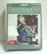 Latch Hook Kit Sports