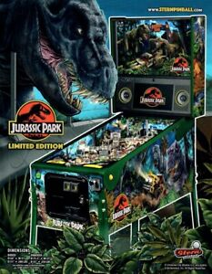 Wanted: WANTED - Jurassic Park LE pinball machine