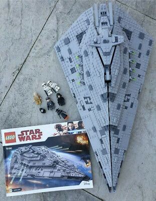 Lego Star Wars First Order Star Destroyer (75190) Complete Retired