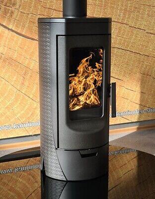 EEK A+ Design-Gusskaminofen Plamen Tara, raumluftunabhängig - 6kW