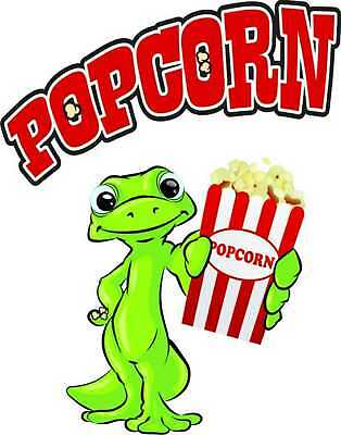 Popcorn Decal 14 Concession Menu Food Truck Restaurant Vinyl Sign Sticker