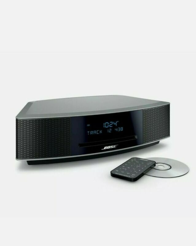 New Bose Wave Music System IV with Remote, CD Player and AM/FM Radio Black NEW
