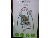 Graco 2-in-1 Swing n Bounce Swing – Benny and Bell