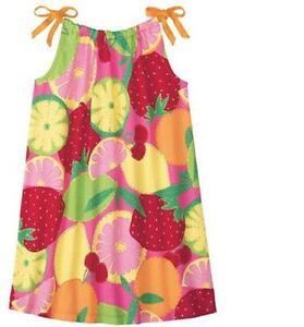 Hanna Andersson 160 cm 12 yrs teen girl colorfull cotton EUC - Robe été fille fruit coloré cotton ado 160 cm 12 ans