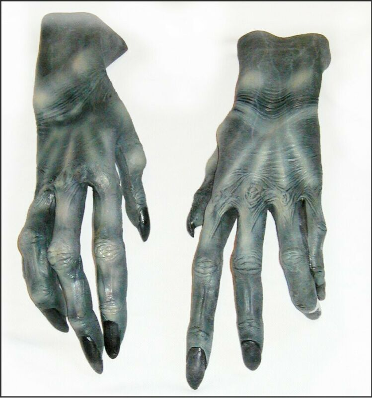 MONSTER CLAWS Rubber Gloves Halloween CLAWS TALONS Detailed MARIO CHIODO 2002