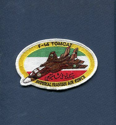 IMPERIAL IRANIAN AIR FORCE Grumman  F-14 TOMCAT IRAN Non US Navy Squadron Patch for sale  Littleton