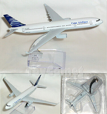 Copa Airlines Airbus A330 Hp 1716Cme Airplane 16Cm Diecast Plane Model