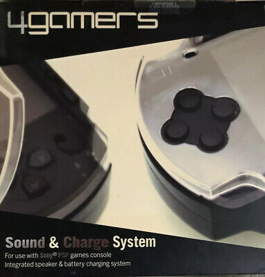 4gamers Psp Vita Sound And Charger system rare