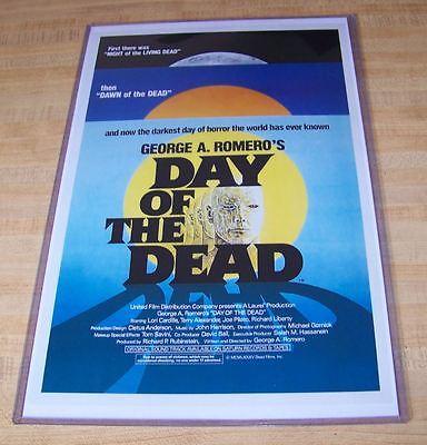 Day of the Dead 11X17 Original Movie Poster George Romero