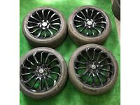 """RANGE ROVER SPORT, VOUGE, LAND ROVER DISCOVERY SPORT TURBINE 22"""" ALLOY WHEELS"""