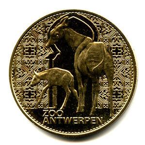 BELGIQUE ANTWERPEN - ANVERS Zoo, Okapis, 2007, Arthus-Bertrand - France - Type: Arthus-Bertrand Thme: Animaux Epoque: XXIme sicle Genre: Médaille Touristique Année: 2007 - France