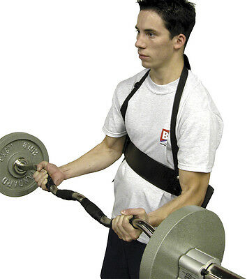 Arm Blaster Strength Iliser Bar Ez Curl Dumbell Barbell Weights Gym