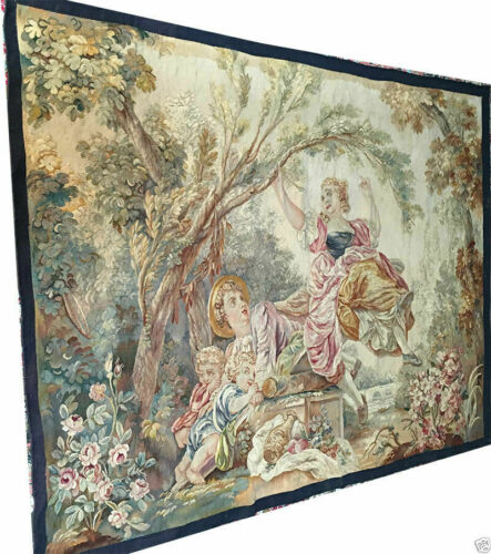 A Must See Antique French Tapestry