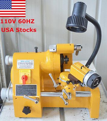 CE 110V Universal Multi-functional Cutter Grinder Sharpener End Mill Lathe Tool