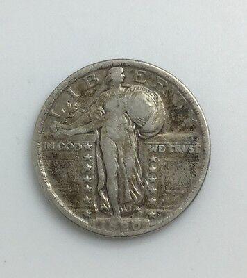 1920  P  PHILADELPHIA STANDING LIBERTY QUARTER 25 CENTS PLEASING COIN