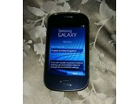 Samsung Galaxy Fame GT-S6810P Blue (Unlocked) Android smartphone 4GB