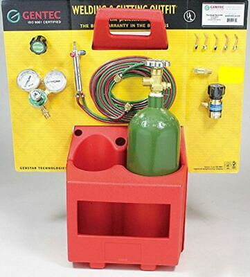 Gentec The Small Torch Kstp16tc-h12sp Oxy-fuel Brazing Soldering Outfit Caddy