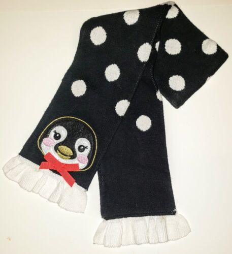 Baby TODDLER  Penguin SCARF Christmas