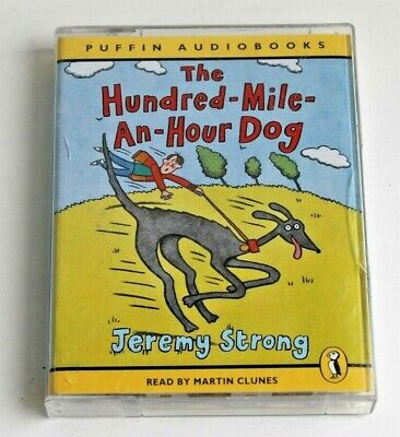 JEREMY STRONG * THE HUNDRED MILE AN HOUR DOG * 2 AUDIO TAPES