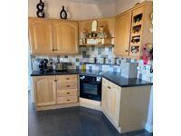 Complete Solid Limed Oak Door Kitchen