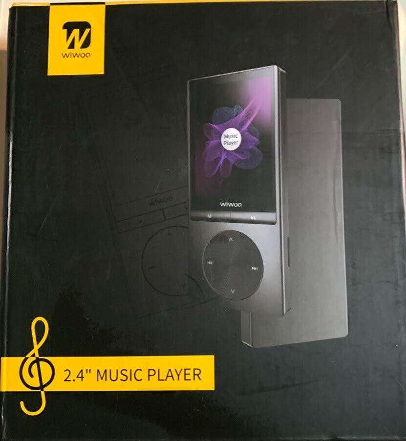 "WIWOO 2.4"" MUSIC PLAYER-H9-16GB/BRAND NEW"