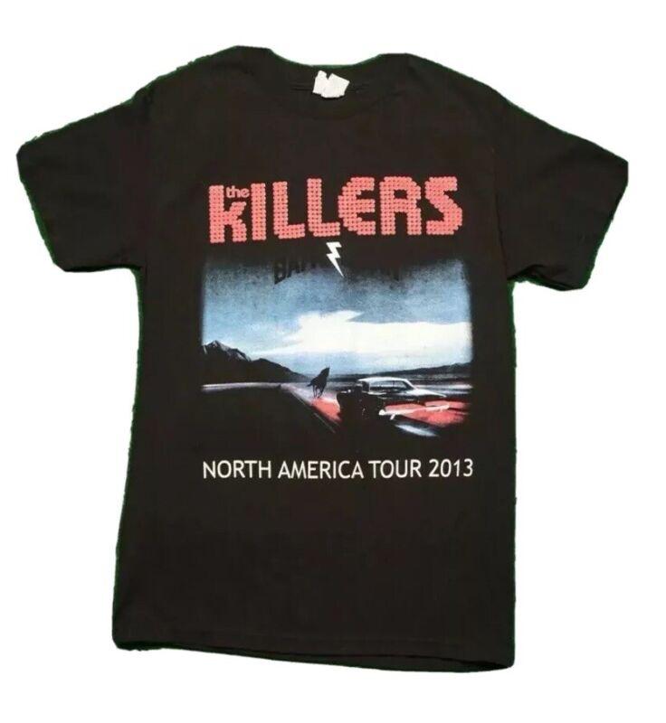 The Killers Battle Born 2013 Concert Tour T-Shirt Black Women