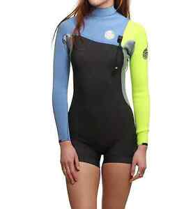 Rip Curl Wetsuit Women 2mm long sleeve shorty Size 12 Sylvania Sutherland Area Preview