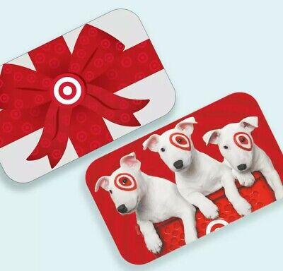 Target gift card 50 dollars New.