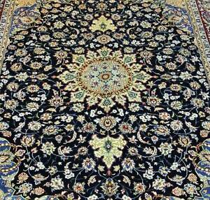 MASSIVE ROOM SIZE HAND WOVEN PERSIAN MASHAD RUG CARPET SIGNED Strathfield Strathfield Area Preview