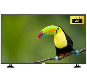 55 inch LED 4K TV, Mint, stand, remote.
