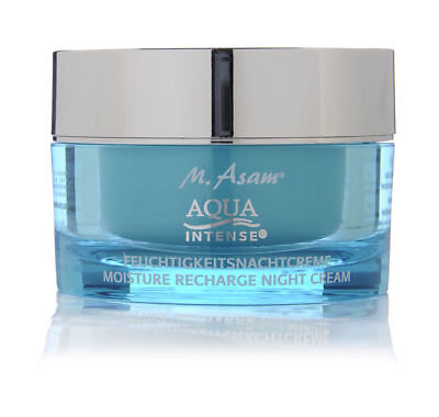 M. ASAM AQUA INTENSE MOISTURE RECHARGE NIGHT CREAM 50 ml. Intense Hyaluron Aqua Moisturizing Night Cream