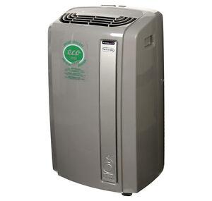 Delonghi PAC AN135EWS.LG 13,500 BTU Portable Air Conditioner Dehumidifier