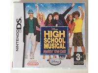 "Nintendo DS ""High school musical- makin' the cut"" game"