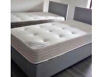 Brand New Single Divan Bed & Headboard Near Me !! Quality Mattress (Optional)