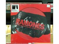 Brand new n sealed Ramones ‎– WBUF FM Broadcast, Buffalo, NY, February 8th 1979, picture disc Punk