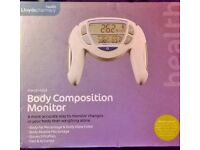 Body Composition Monitor New/Boxed/Unused Condition