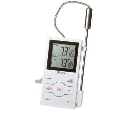 Cdn Dual Sensor Probe Digital Cooking Thermometer Timer