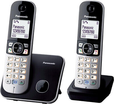 Panasonic Telefono cordless DUO - KX-TG6812