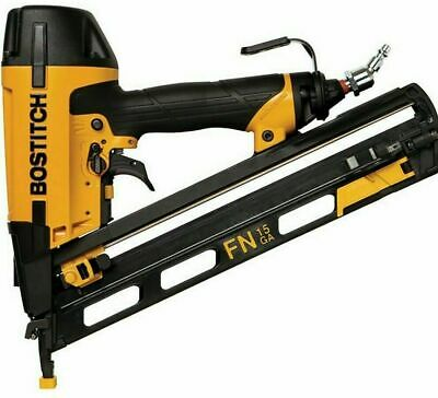 BOSTITCH N62FNK-2 15 GAUGE ANGLED FINISH NAILER KIT 1 1/4