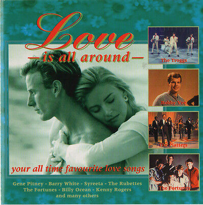 LOVE IS ALL AROUND The Troggs - Gene Pitney - Kenny Rogers - Billy Ocean & MORE